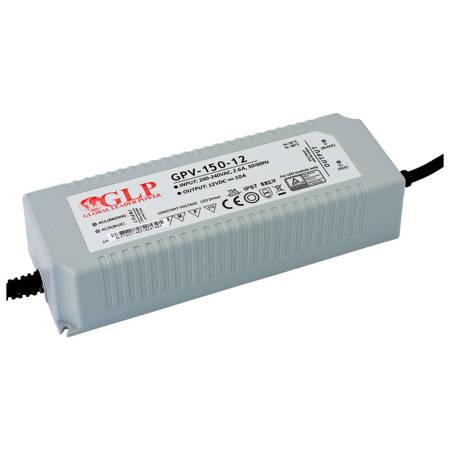 GLP Zasilacz impulsowy napięciowy GPV-150-12 moc: 120W, napięcie: 12V, prąd: 0-10A