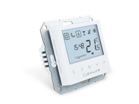 Przewodowy cyfrowy regulator temperatury tygodniowy do puszki ø60mm BTRP230(50)