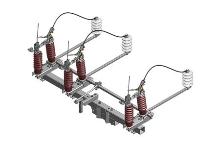 Rozłącznik napowietrzny, modułowy- poziomy RNM III SA 24/4/100S