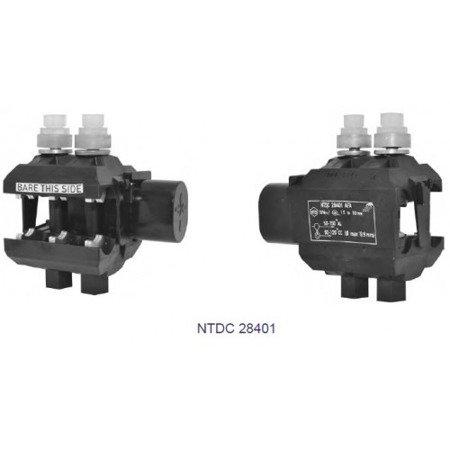 SICAME Zacisk jednostronnie przebijający izolację NTDC 28401 AFA (linia główna: 50-150mm²; odgałęźna: 50-120mm²; max grubośc izolacji: 3mm)